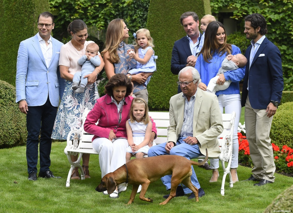 шведская семейка фото
